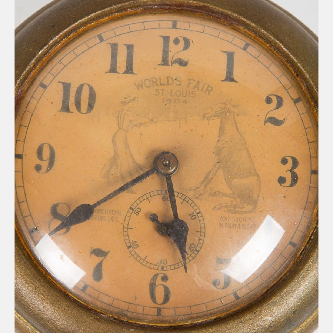 An Ingersoll Jumbo Model Gilt Pocket Watch, 20th - 2
