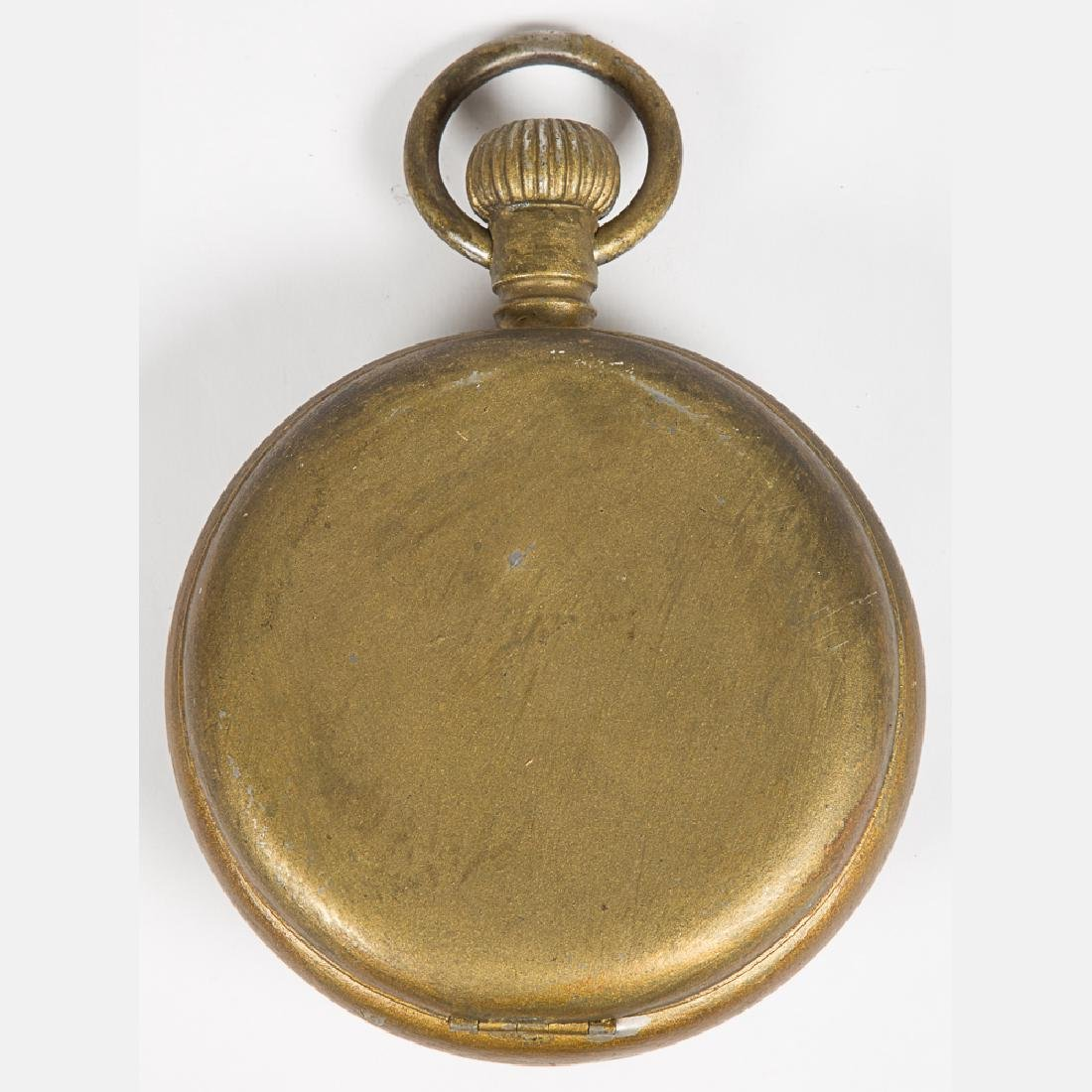 An Ingersoll Jumbo Model Gilt Pocket Watch, 20th - 4