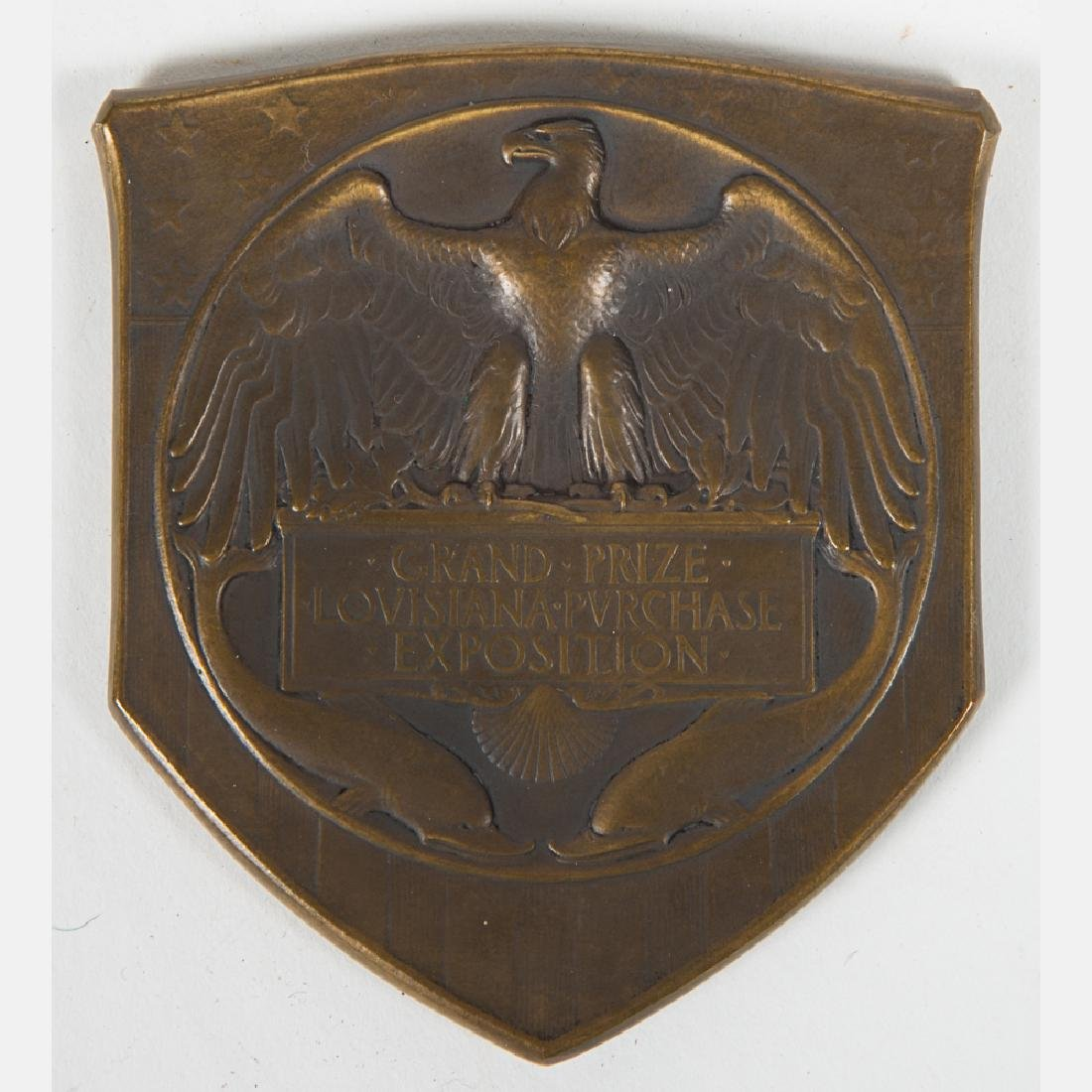 A Bronze Grand Prize Medal in Original Presentation Box
