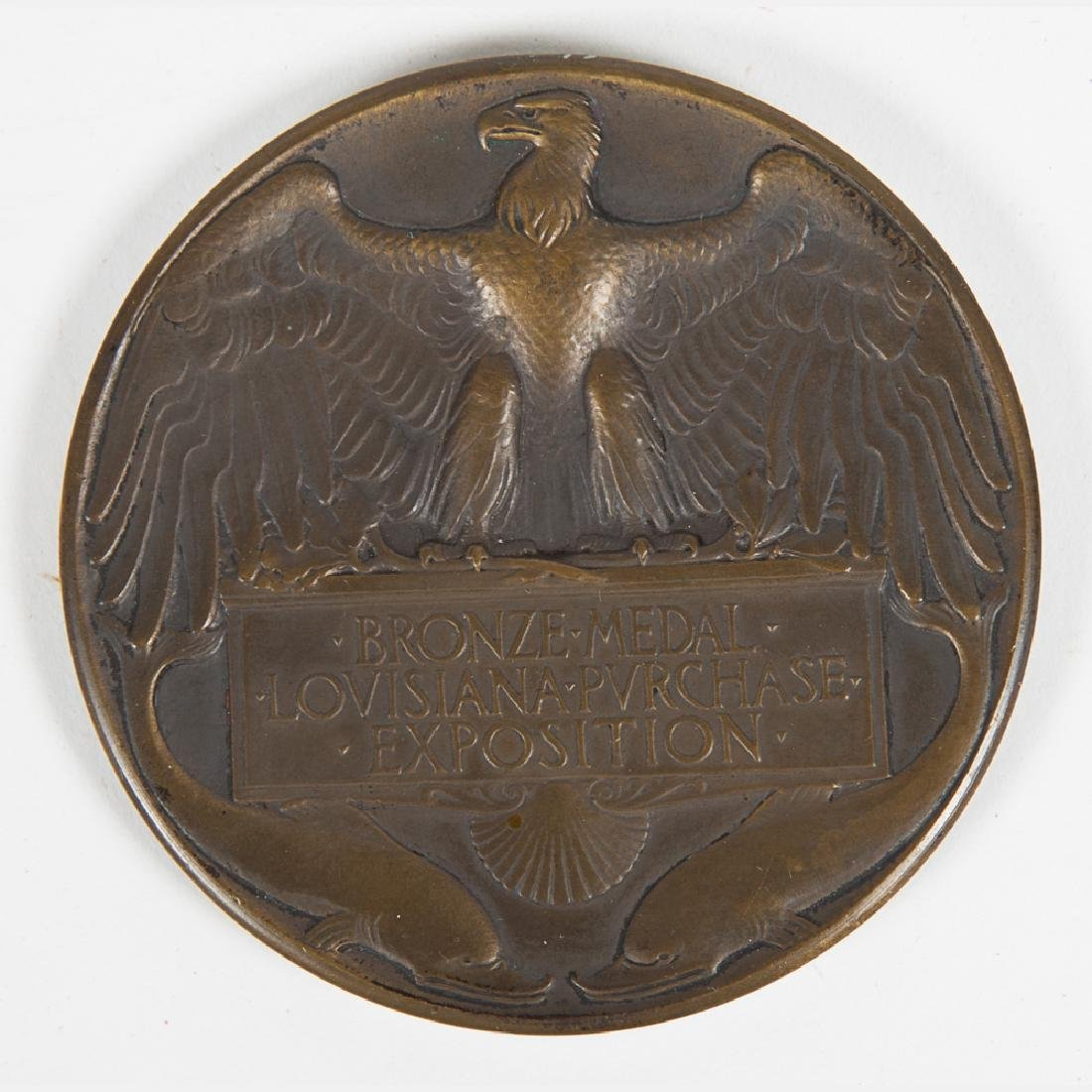 A Bronze Award Medal in the Original Presentation Box