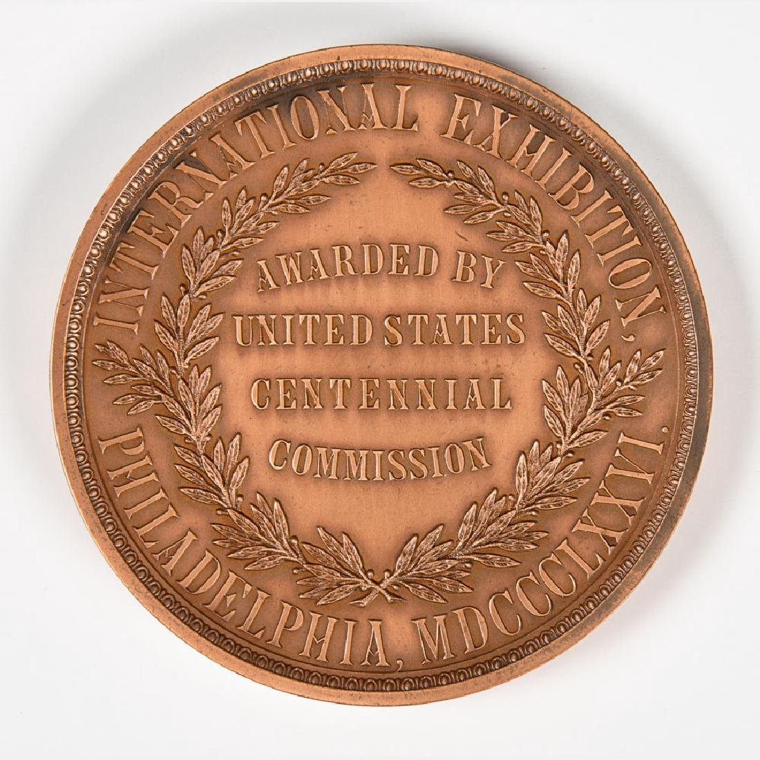 A Copper Medal by H. Mitchell from the Centennial - 3