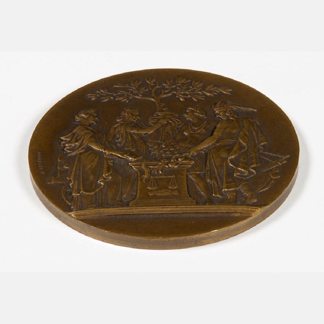 A Bronze Medal by De Paulis from the Louisiana Purchase - 2