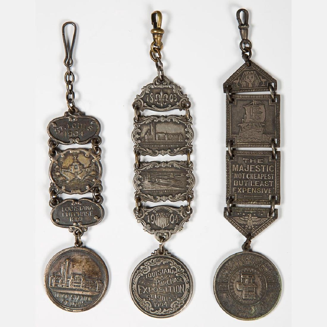 A Collection of Twelve Metal Souvenir Fobs from the - 3