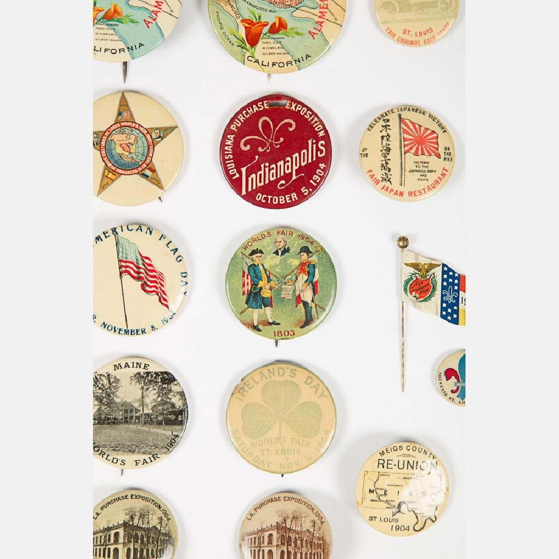 A Miscellaneous Collection of Thirty-One Celluloid Pins - 3