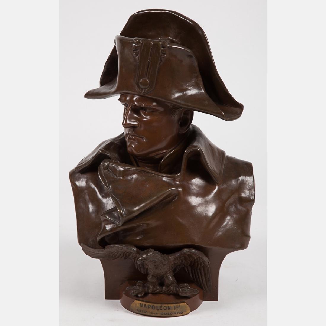 Renzo Colombo (1856-1885) Napoleon I, Bronze,