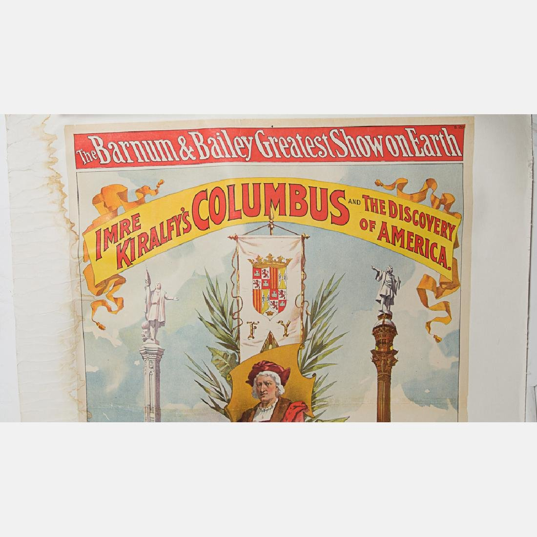 An 1892 World's Fair Columbian Exposition Barnum and - 2