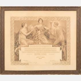 A Silver Medal Diploma from the Louisiana Purchase