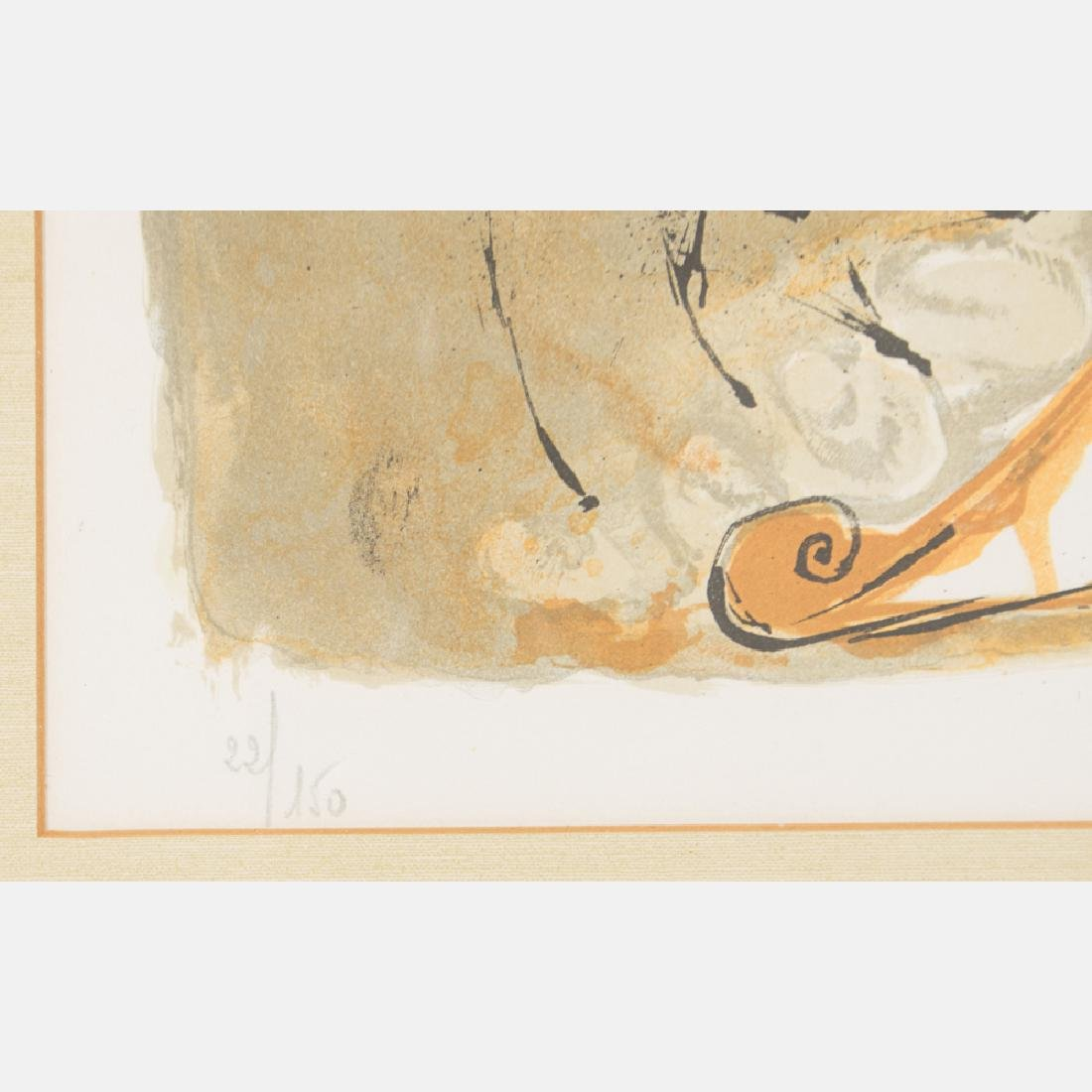 Salvador Dali (1904-1989) Self Portrait Sundial, - 3