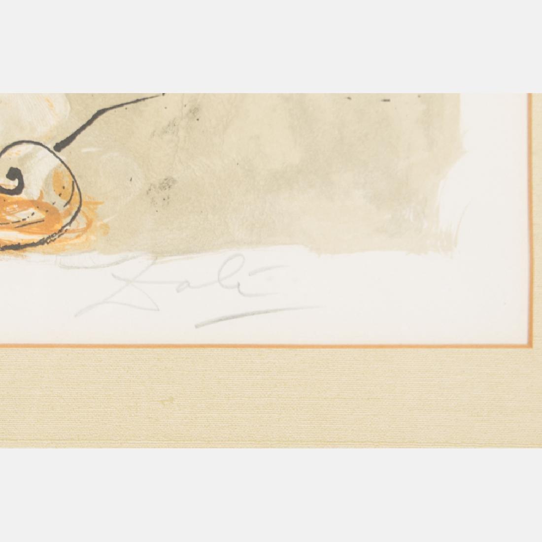 Salvador Dali (1904-1989) Self Portrait Sundial, - 4