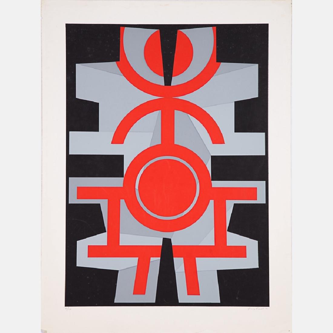 Jimmy Ernst (1920-1984) Untitled, Silkscreen, - 2
