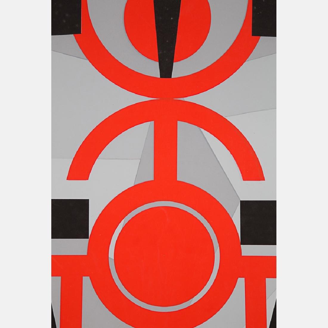 Jimmy Ernst (1920-1984) Untitled, Silkscreen, - 6