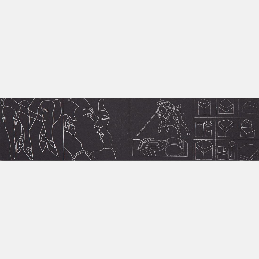 Jimmy Ernst (1920-1984) Untitled, Silkscreen, - 9