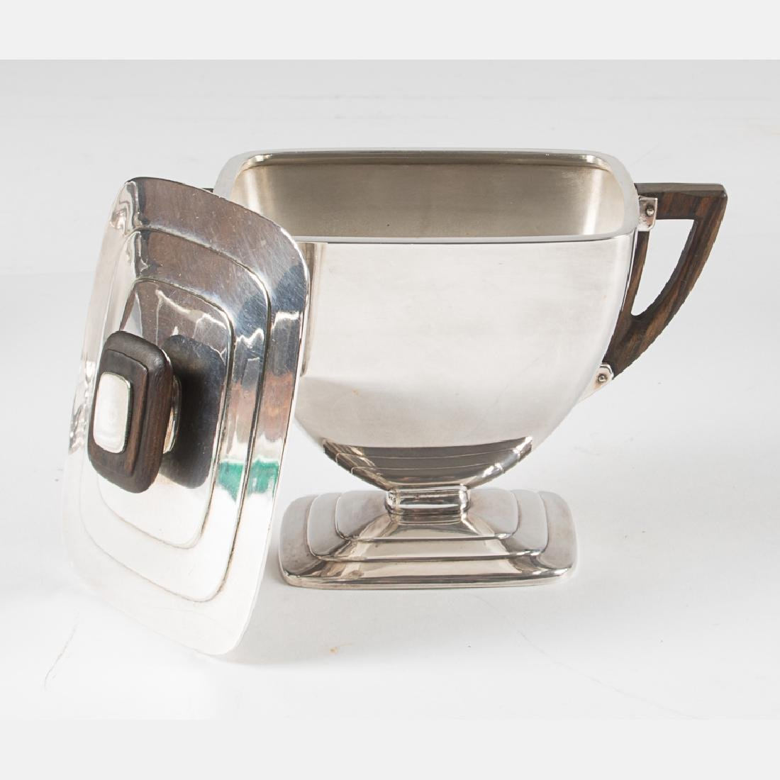 An International Silver Plated French Deco Style Coffee - 2