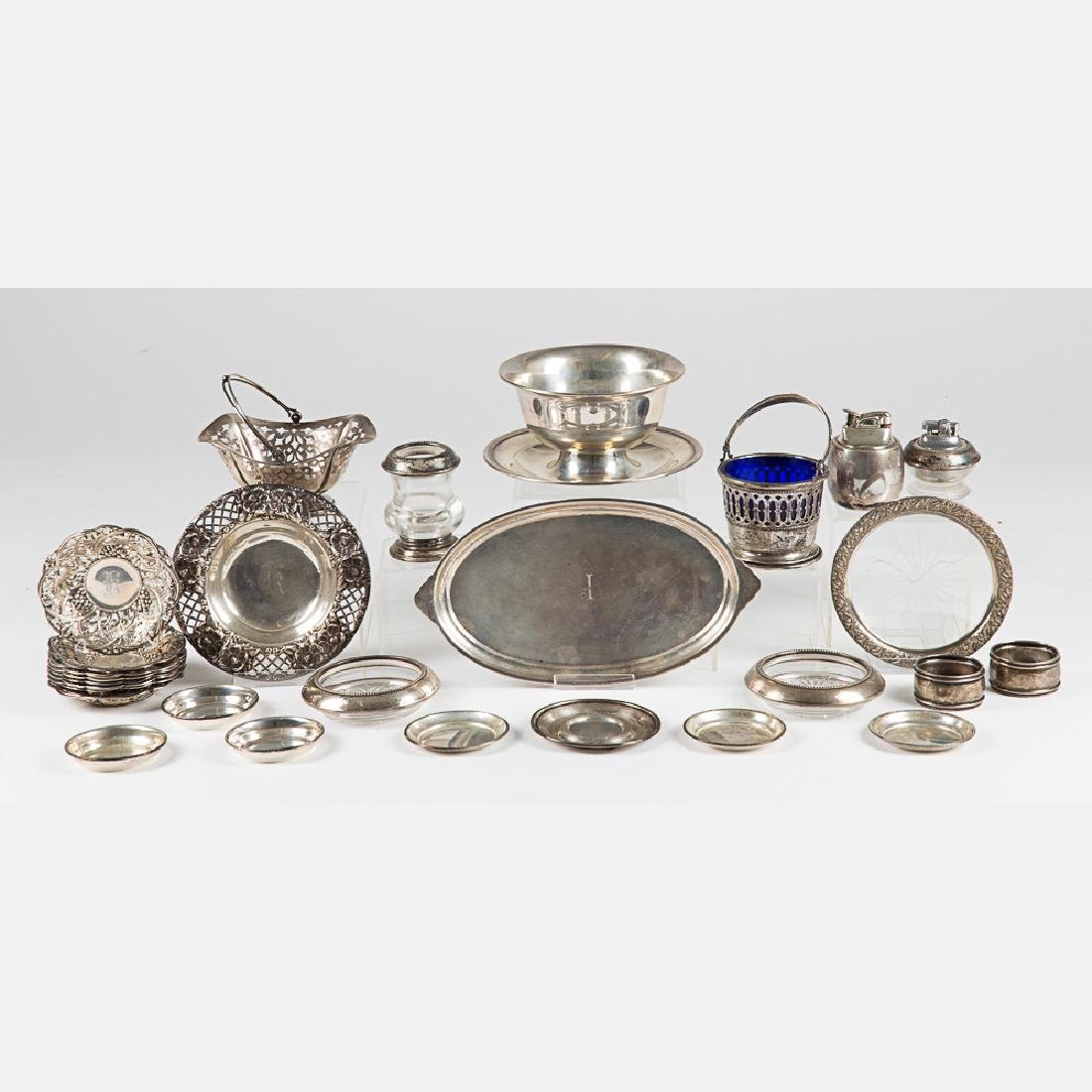 A Miscellaneous Collection of Sterling Silver Serving