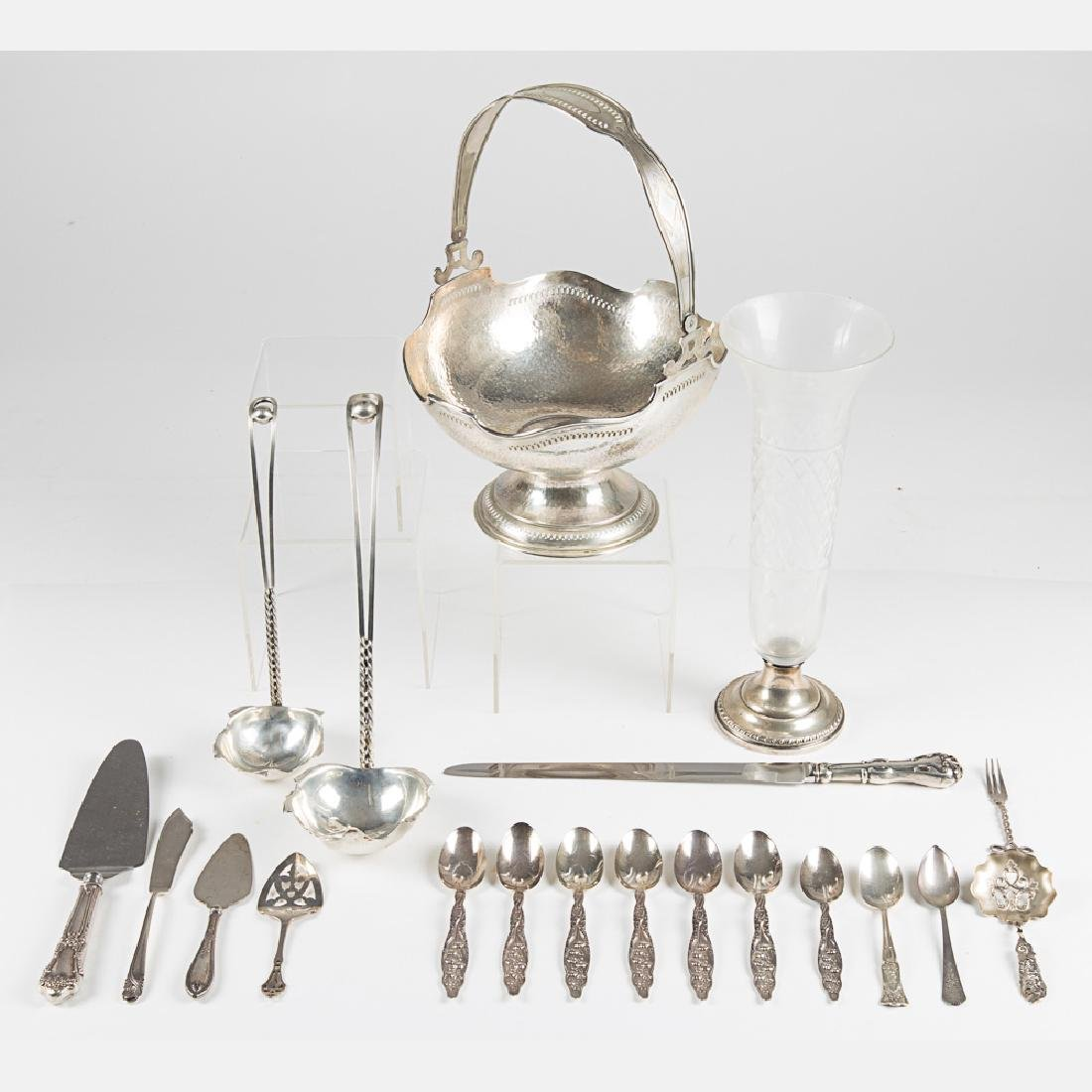 A Miscellaneous Collection of Sterling Silver Flatware,