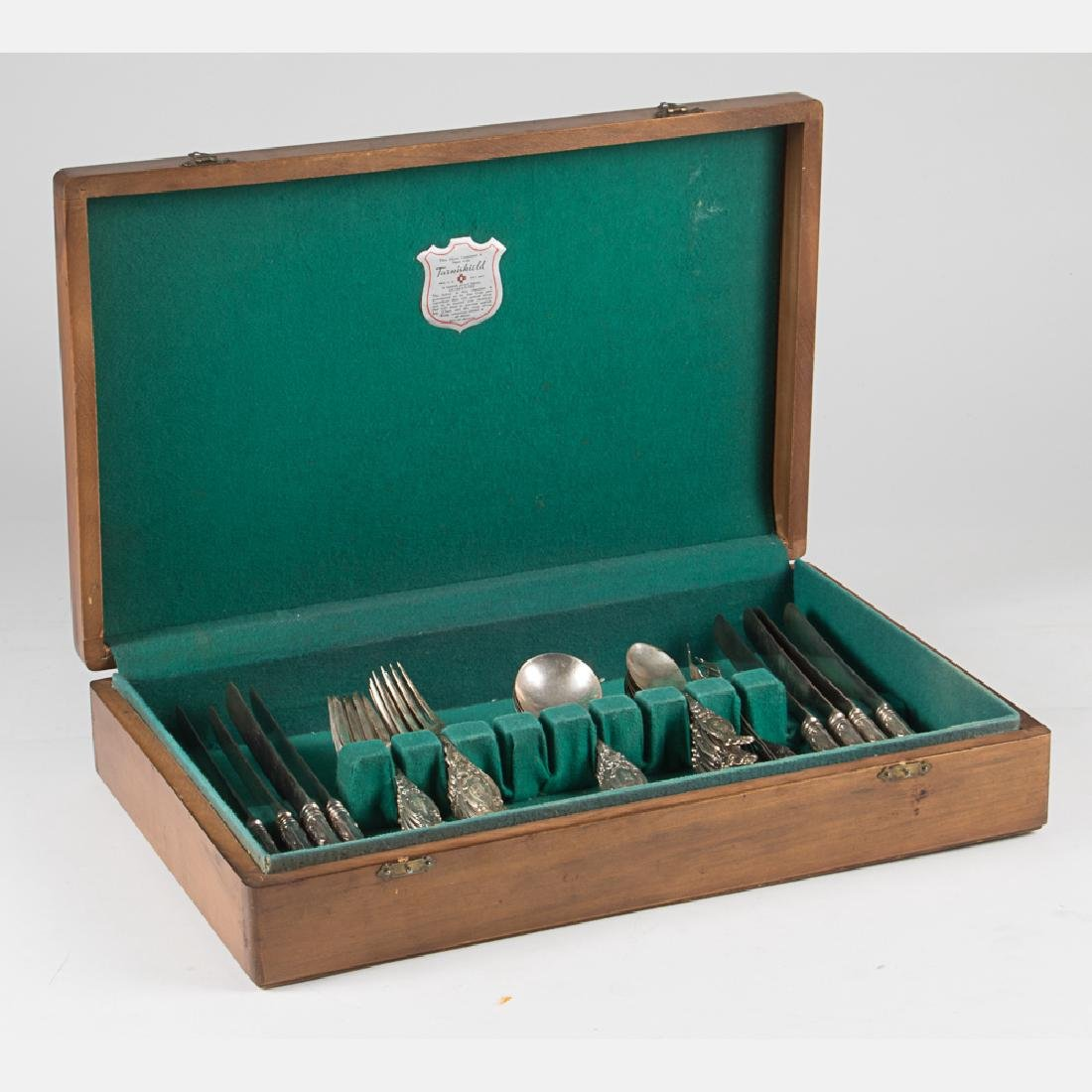 A Set of Sterling Silver Flatware Service by Simpson, - 2
