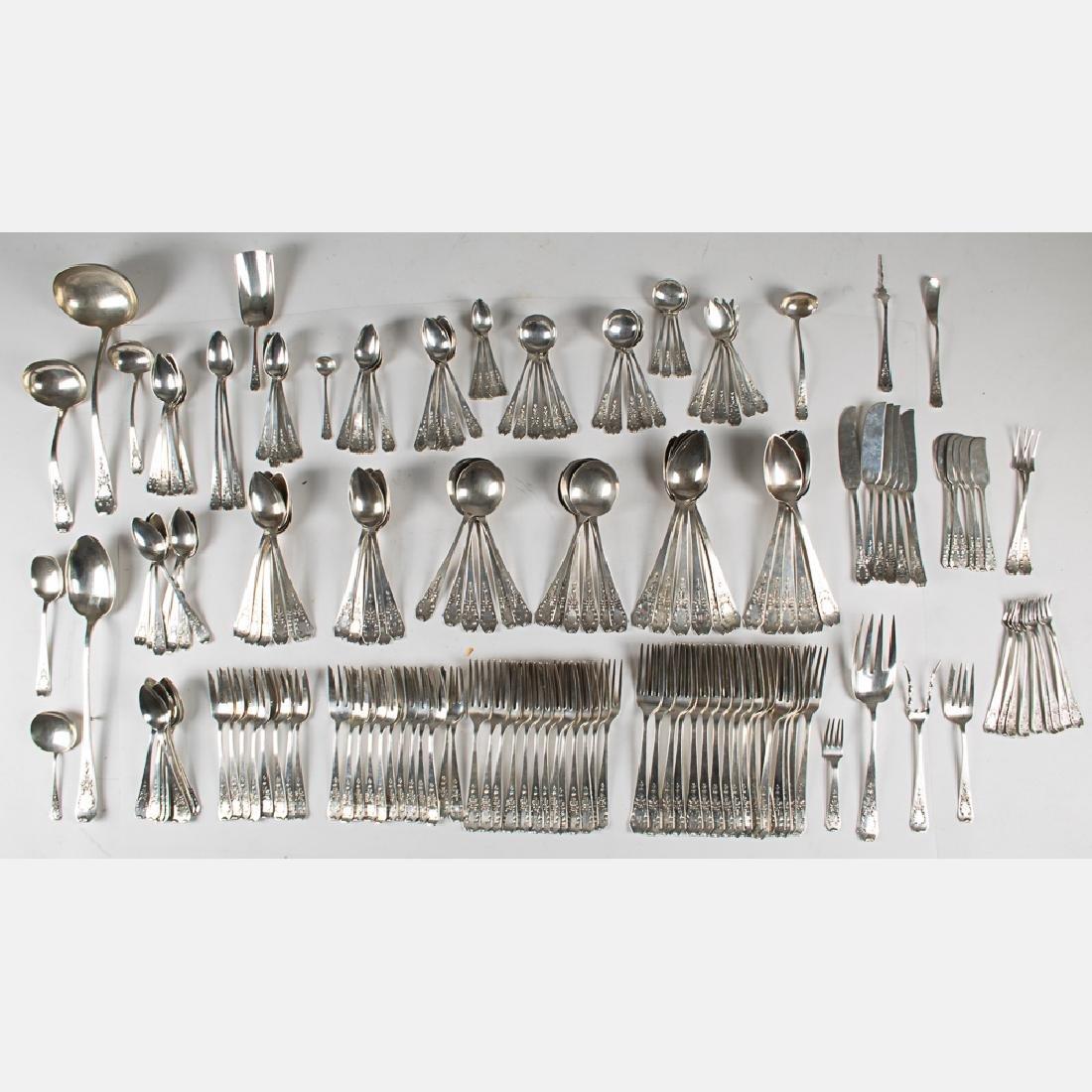 A Sterling Silver Gorham and International Flatware - 9