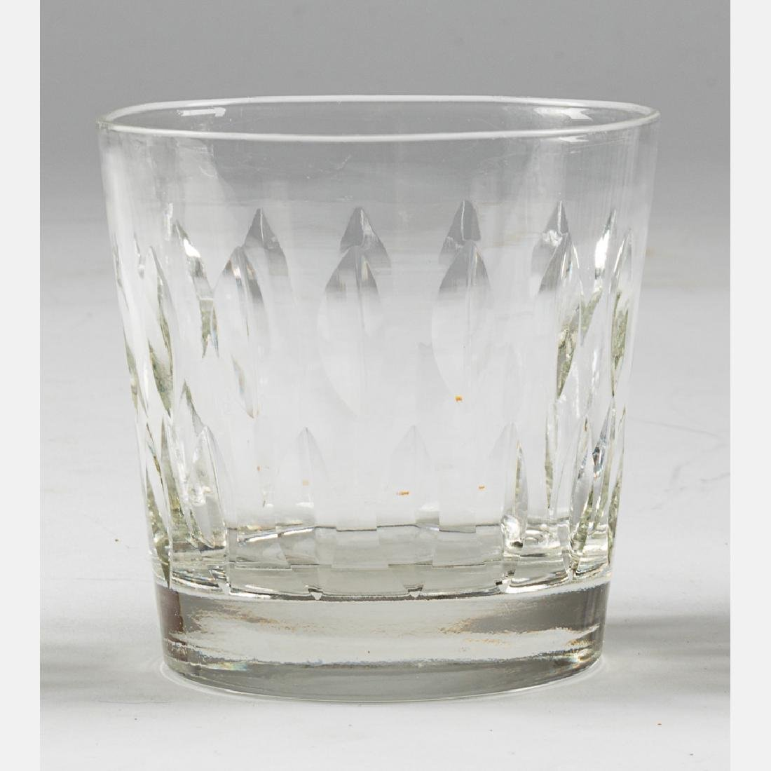A Collection of Etched Crystal Stemware, 20th Century, - 7