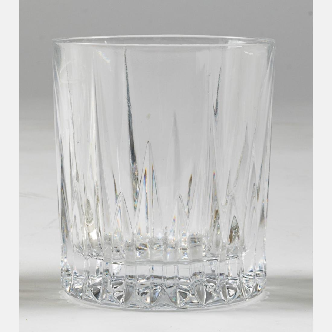 A Collection of Etched Crystal Stemware, 20th Century, - 8