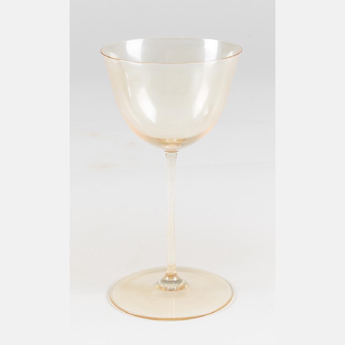 A Set of Blown Glass Stemware by J. & L. Lobmeyr - 4