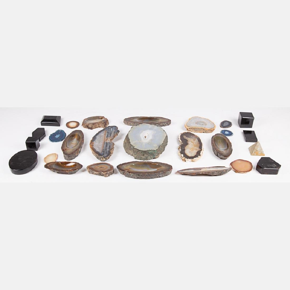 A Miscellaneous Collection of Polished Geode and - 2