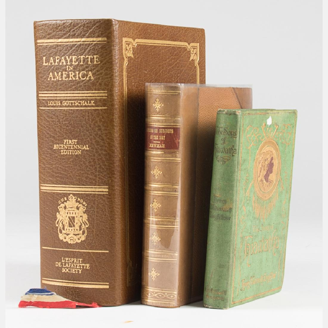 A Group of Three Decorative Books by Various Authors,