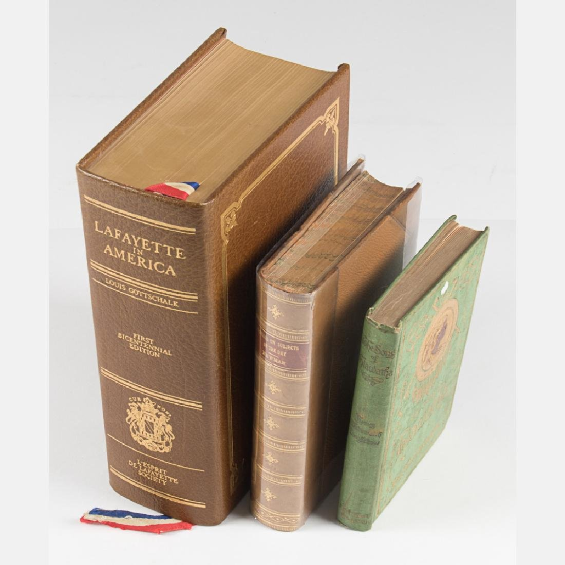 A Group of Three Decorative Books by Various Authors, - 3