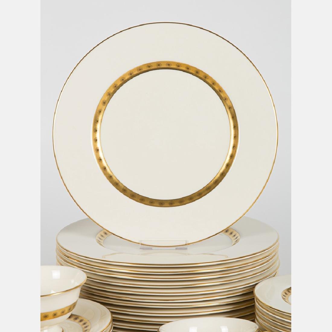 A Partial Castleton Porcelain Dinner Service in the - 3