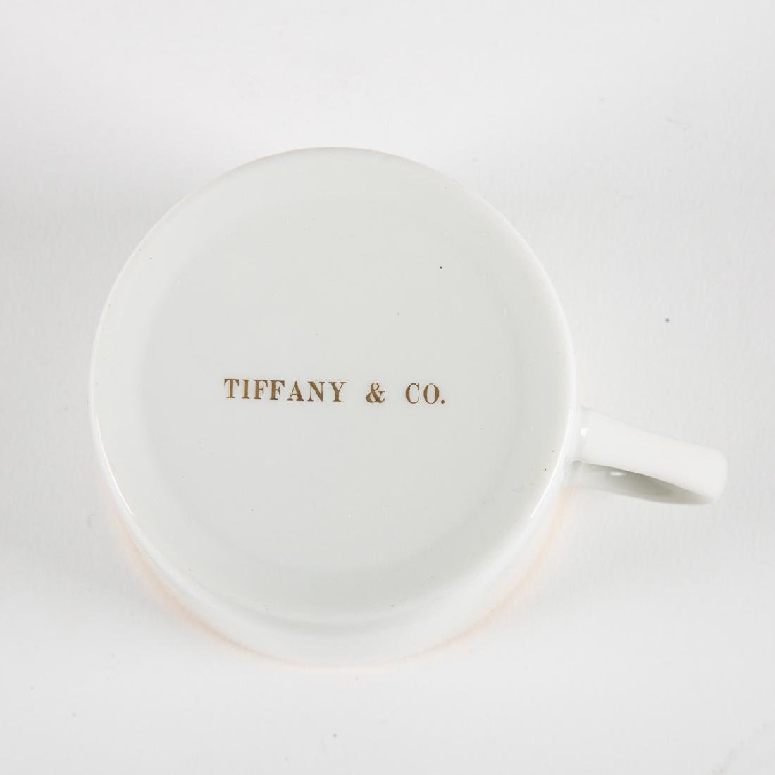 A Tiffany & Company Porcelain Large Demitasse Service, - 3