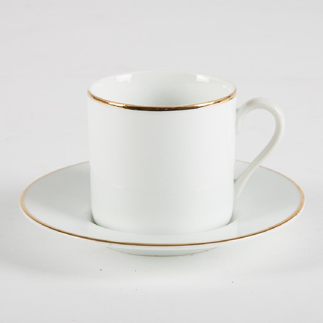 A Tiffany & Company Porcelain Large Demitasse Service, - 5
