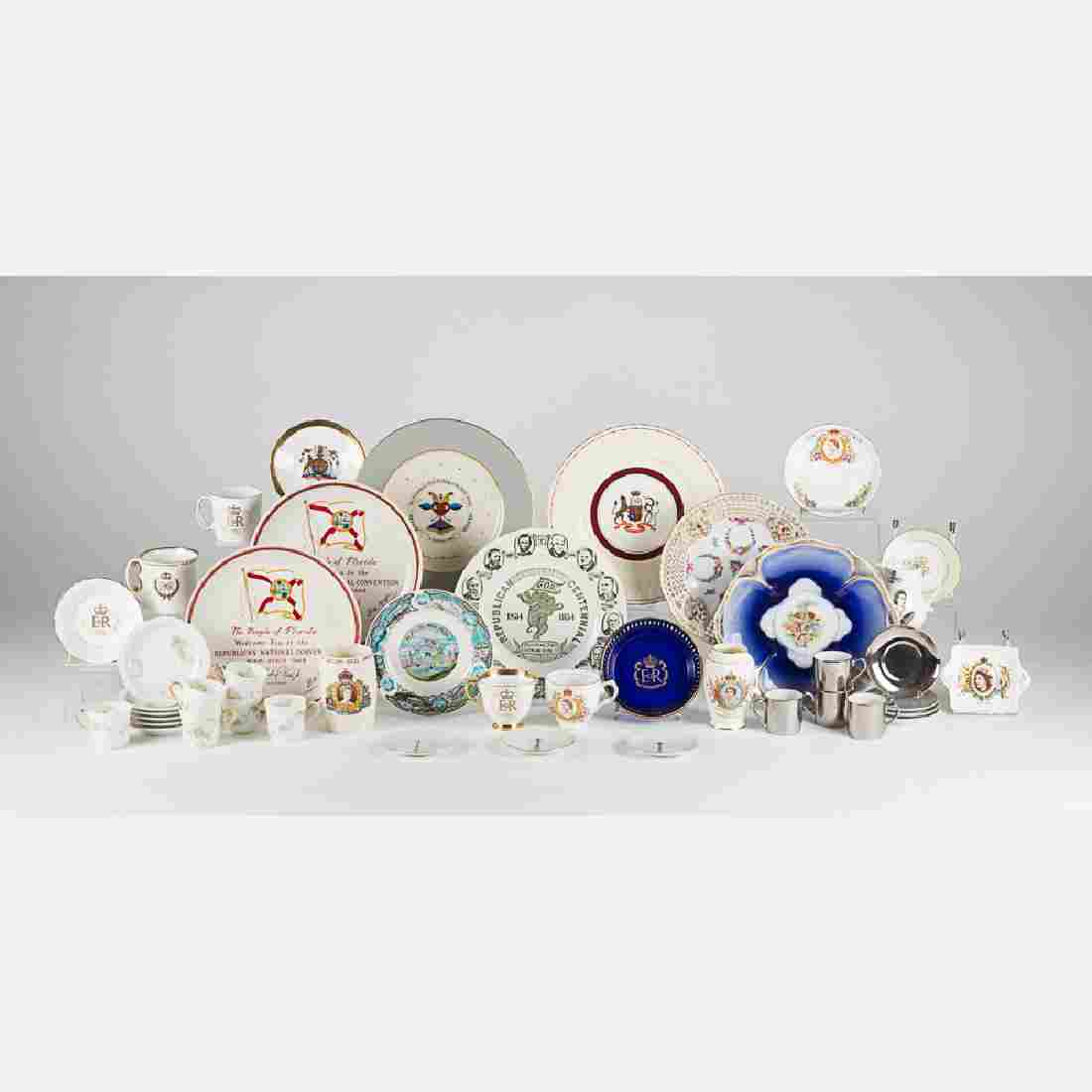 A Miscellaneous Collection of Porcelain Serving and