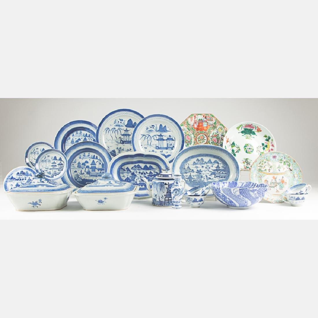 A Miscellaneous Collection of Chinese Blue and White