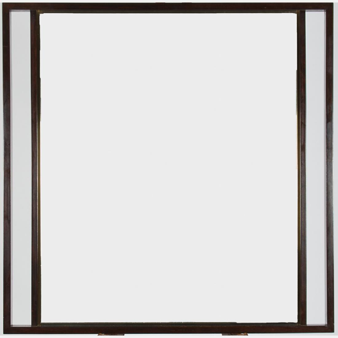 An Edward Wormley for Dunbar Rosewood Mirror, 20th