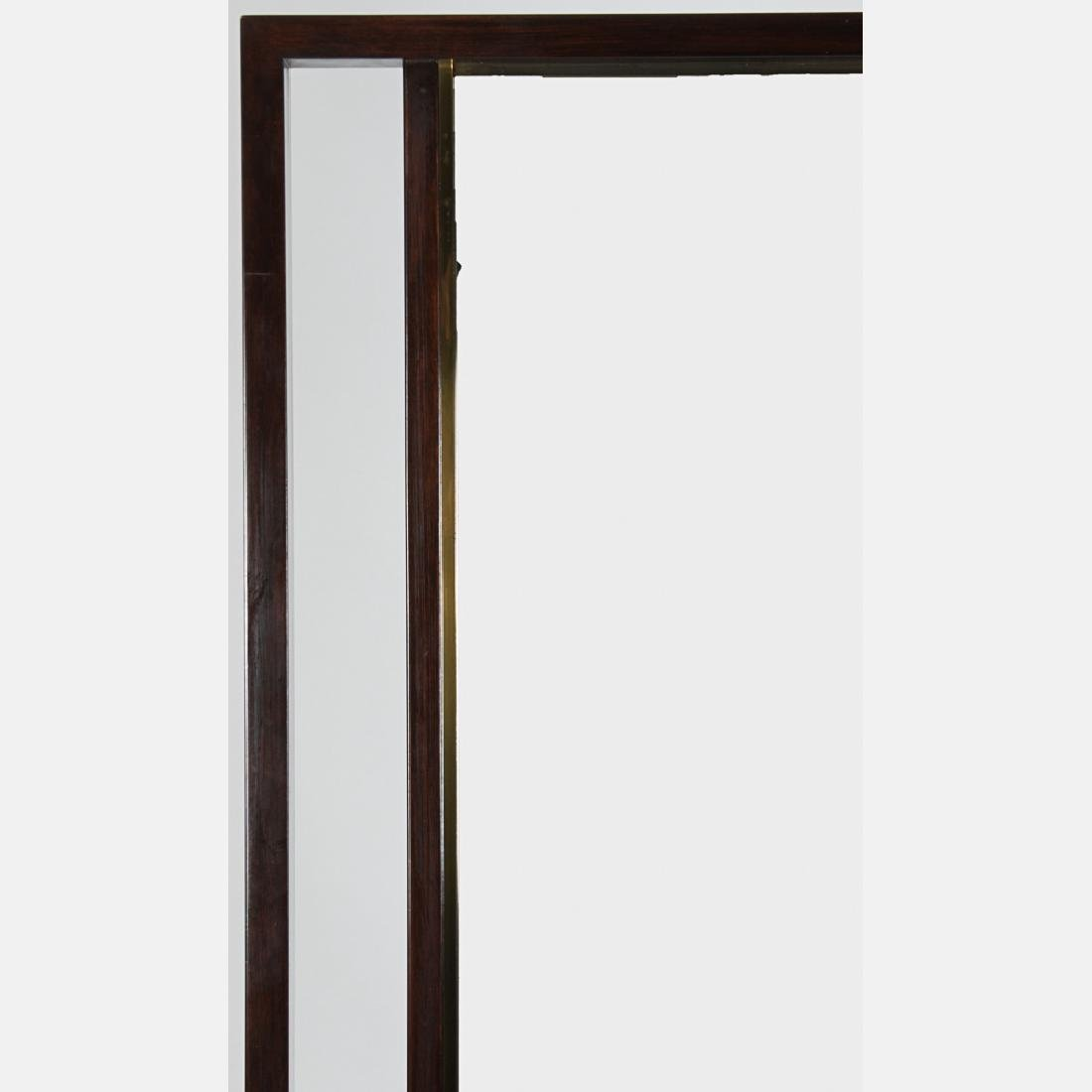An Edward Wormley for Dunbar Rosewood Mirror, 20th - 2