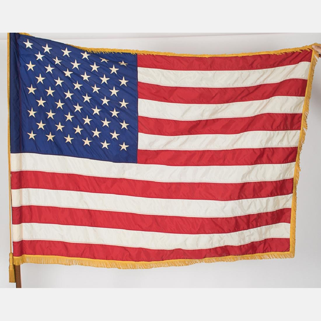 An Embroidered United States Marine Corps Indoor Flag - 3