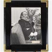 A Signed Photograph of Salvador Dali 19041989 by