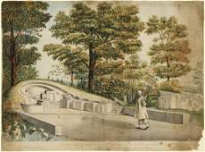 Jan Brandes (1743-1808) Jinesche Begraafplats in Batvia