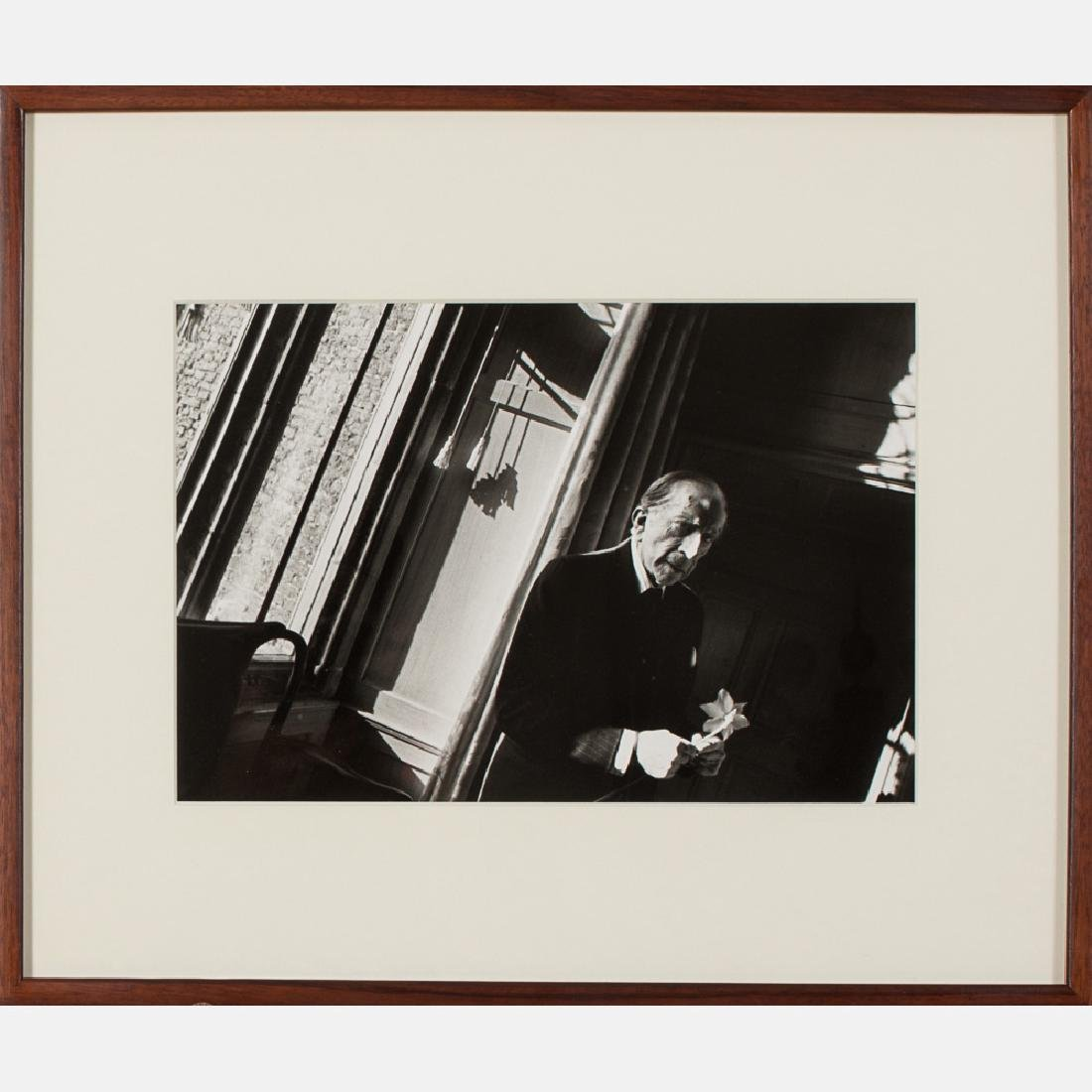Harry Benson (b. 1929) J.P. Getty, 1974, Silver gelatin