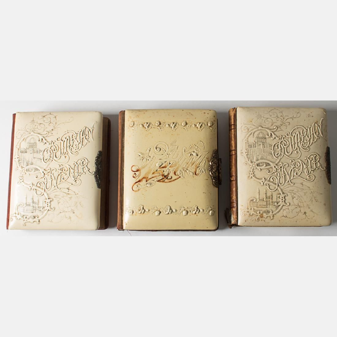 A Group of Three Souvenir Photo Albums from the World's