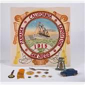 A Miscellaneous Collection of Twelve Souvenir Items