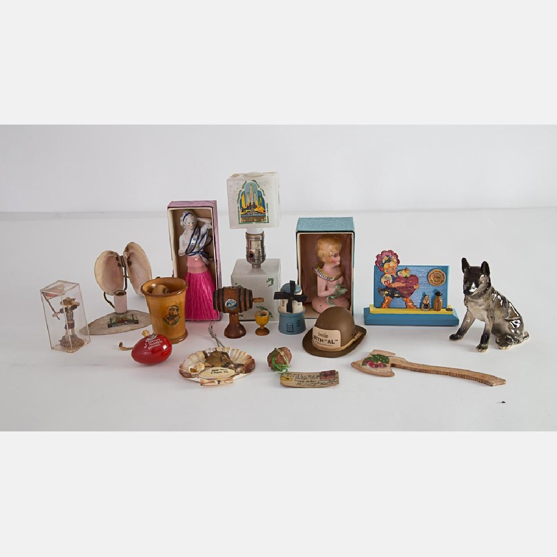 A Miscellaneous Collection of Souvenir Items from the