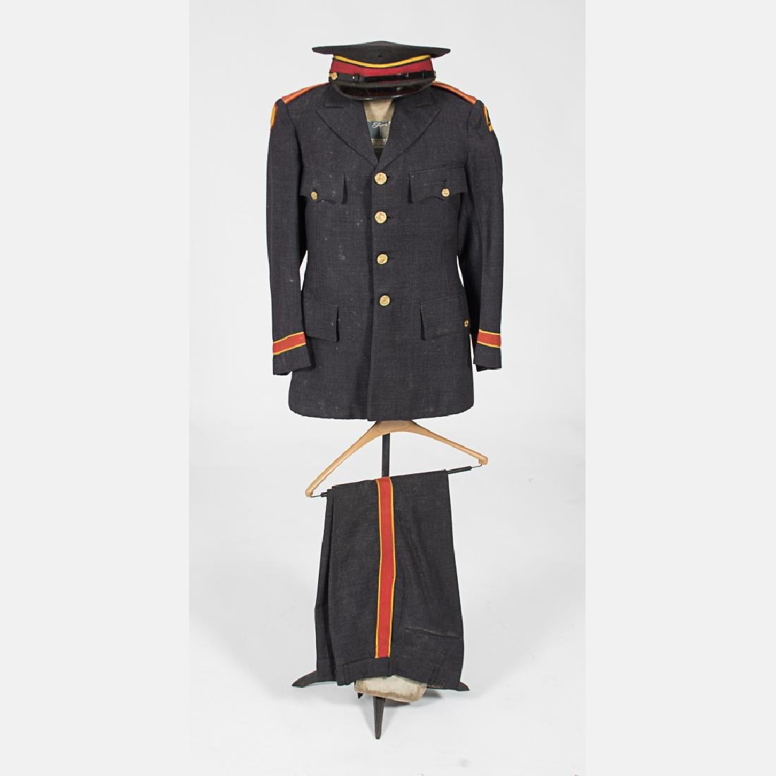A Wool Cashier's (Brinks) Uniform from the Century of
