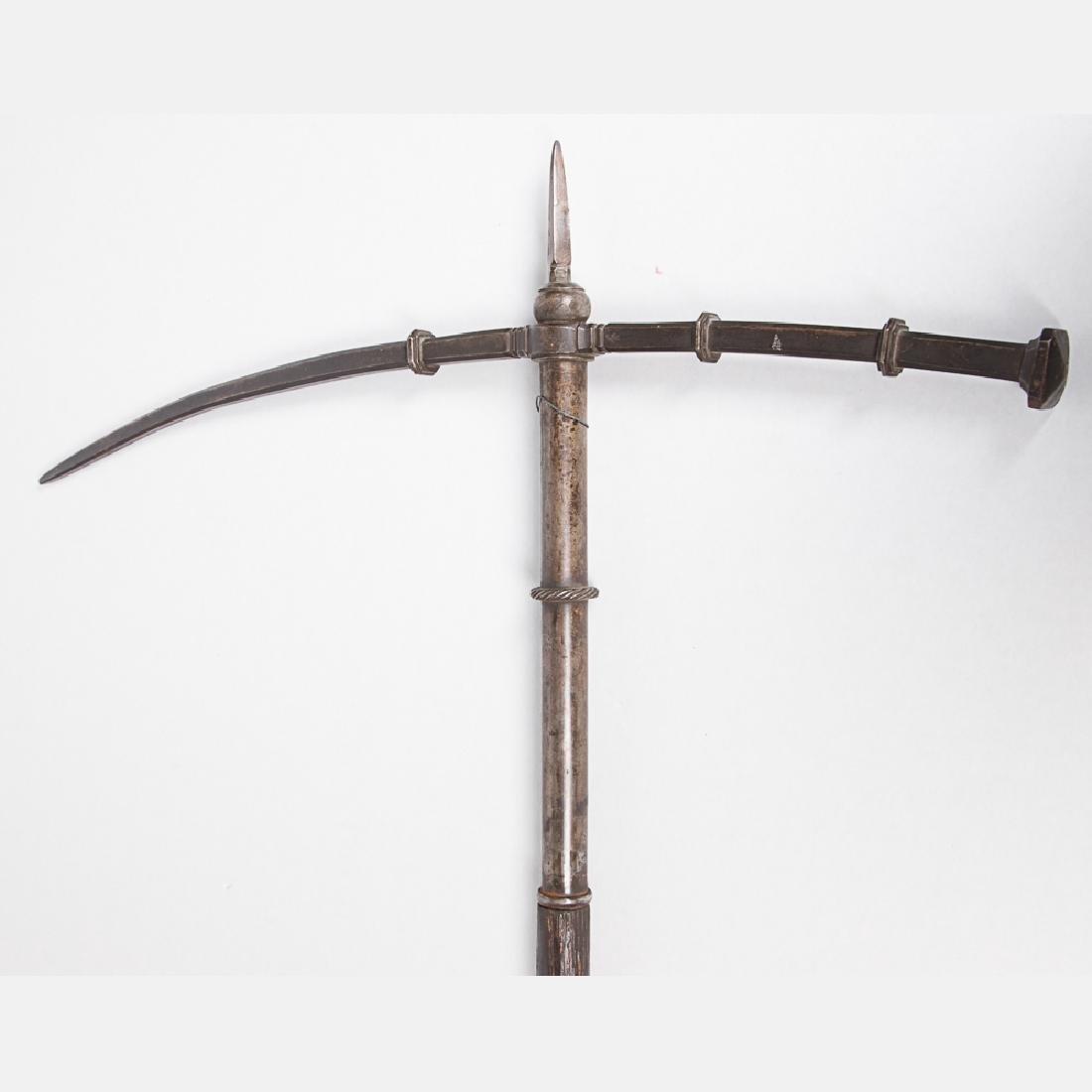 A German War Hammer, 16th Century,