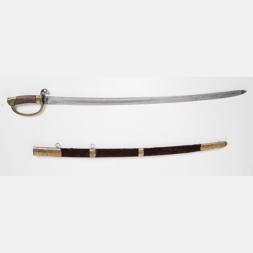 A Russian Model 1881 Calvary Sword and Scabbard, 1898,