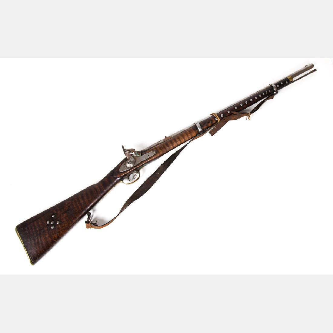 An Enfield 1871 Percussion Carbine Rifle, 19th Century,