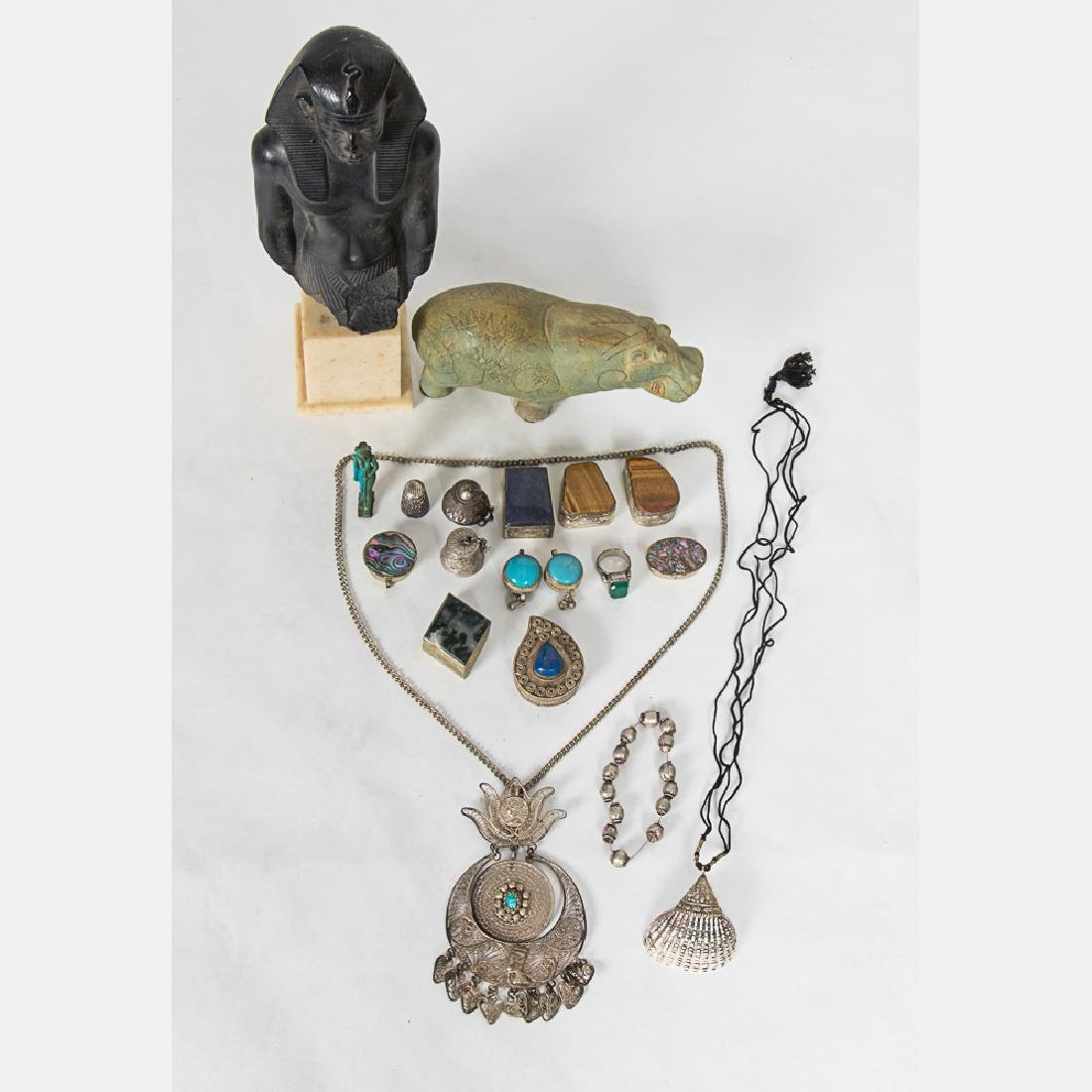 A Collection of Egyptian and Middle Eastern Decorative