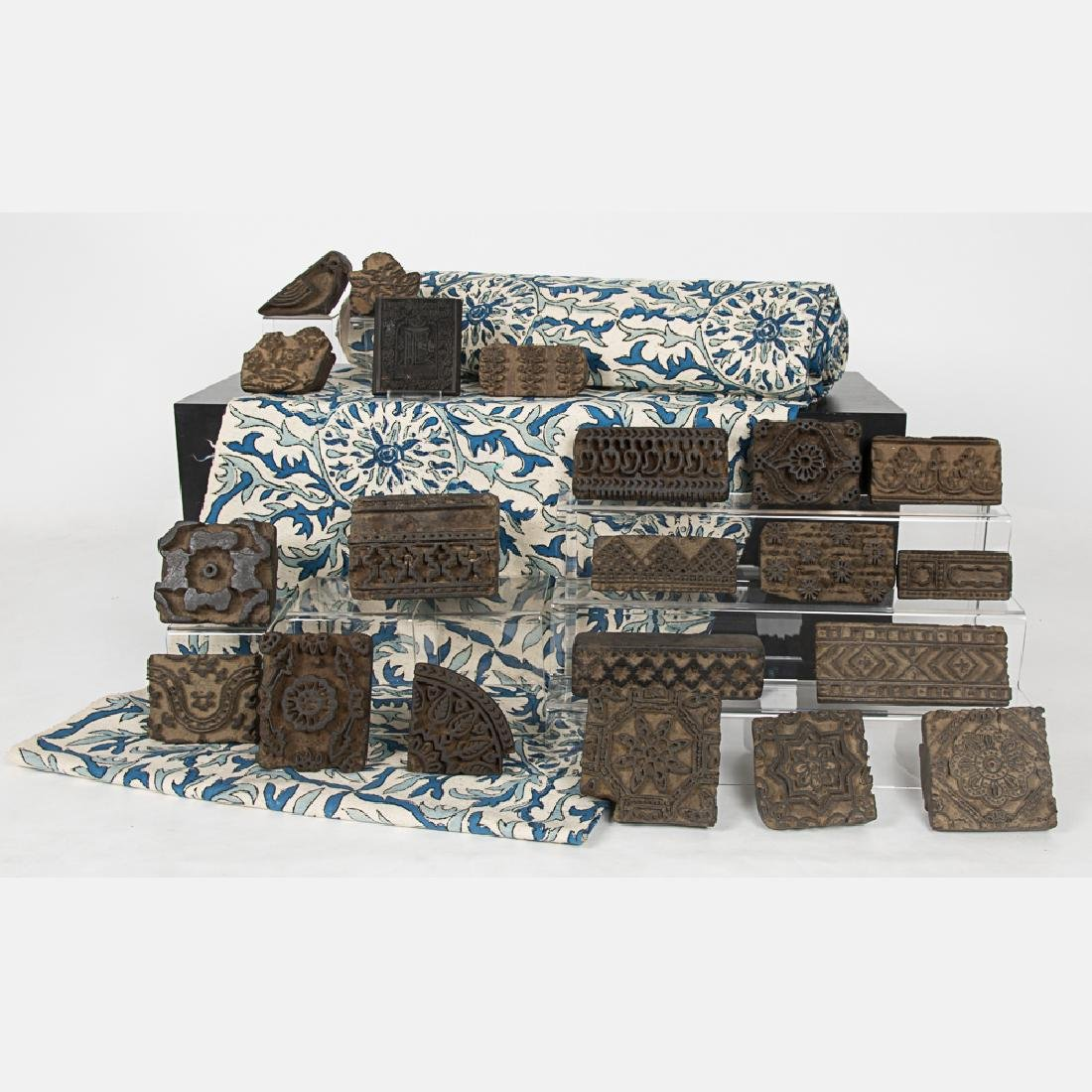 A Collection of Indonesian Textile Block Printing