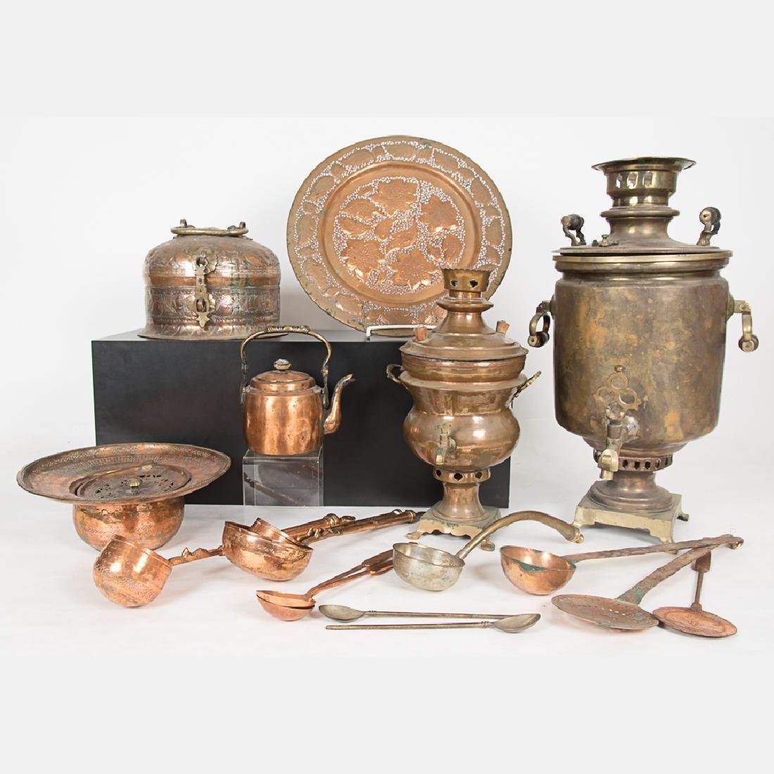 A Collection of Middle Eastern and Russian Copper and