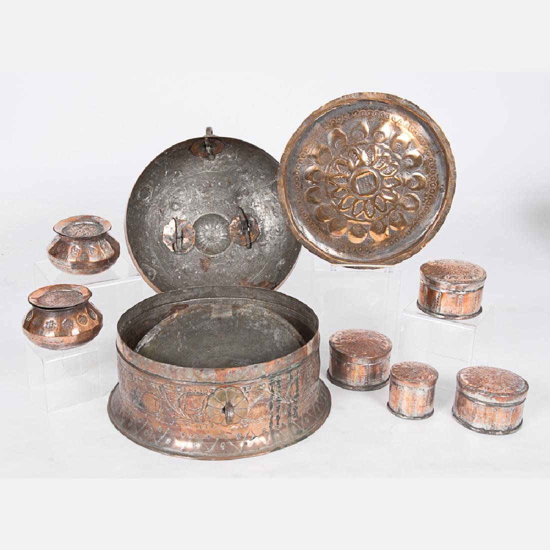 A Collection of Middle Eastern and Russian Copper and - 2