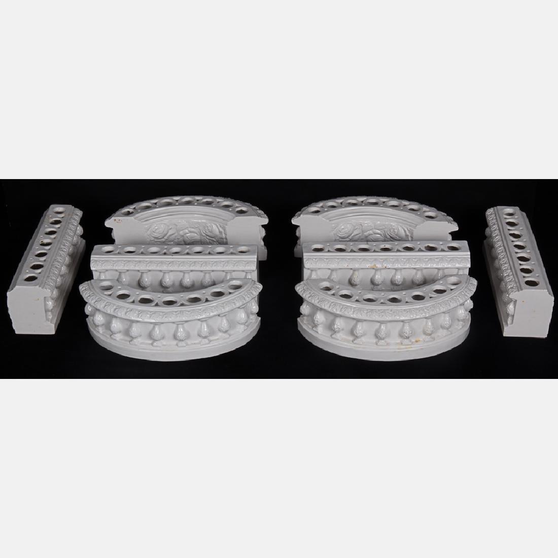 A Capodimonte Blanc de Chine Porcelain Table - 2